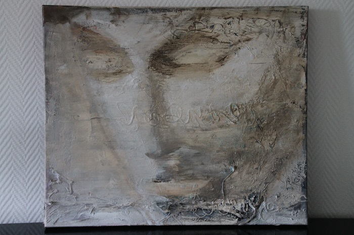 Le Penseur! 50 x 40 cm